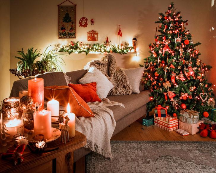 Фото №1 - Идеи для новогоднего интерьера дома