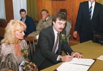 Елена Зайцева и Отто Лауингер