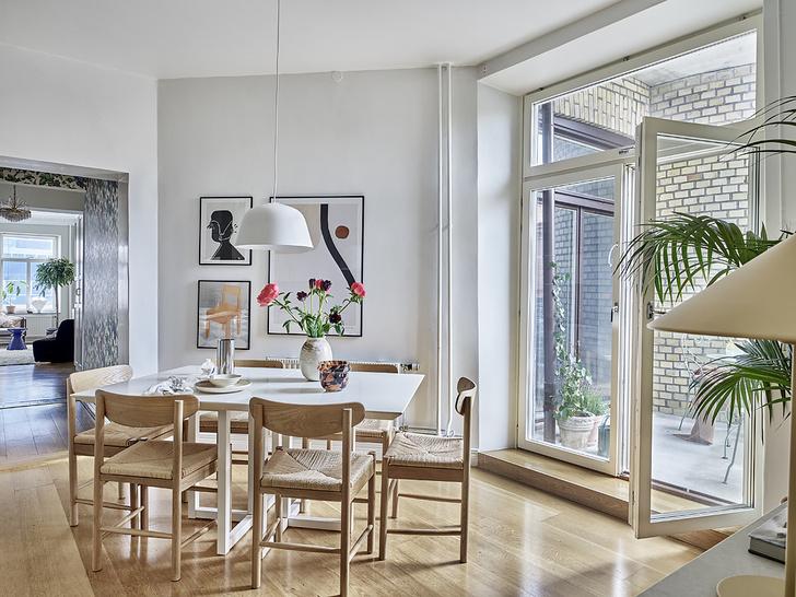Фото №1 - Квартира творческой пары в Стокгольме