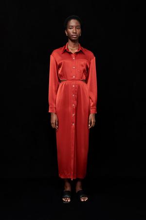 Фото №11 - Lady in red: Nanushka представили коллекцию в честь Китайского Нового года