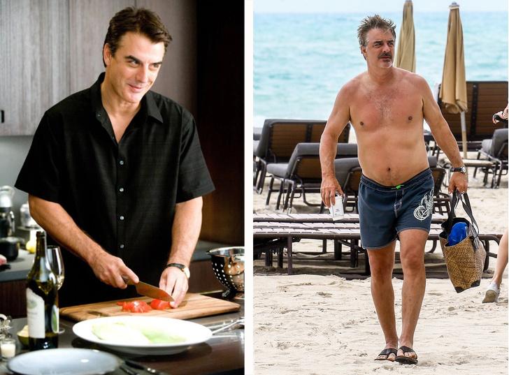 Фото №4 - «Беременный таракан»: худые мужчины-звезды с пивными животами