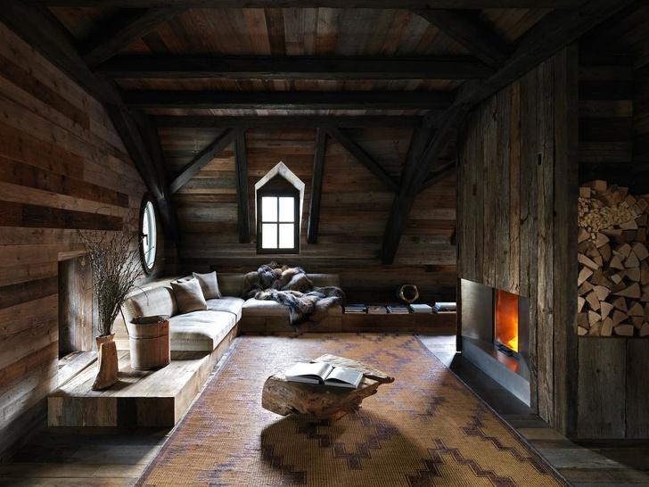 Фото №1 - Уютное деревянное шале в Альпах