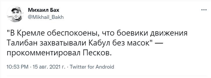 Фото №3 - Посол России назвал талибов «адекватными мужиками». В соцсетях ответили шутками