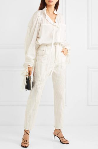 Фото №9 - 3 сочетания с белыми джинсами, которые облегчат сборы