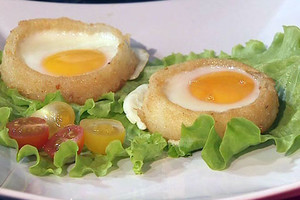 Фото №9 - 7 необычных и простых рецептов яичницы к завтраку