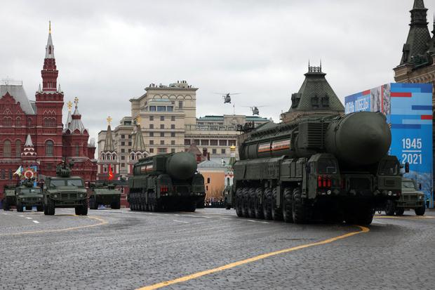 Фото №2 - В Москве прошел парад в честь 76-летия Победы