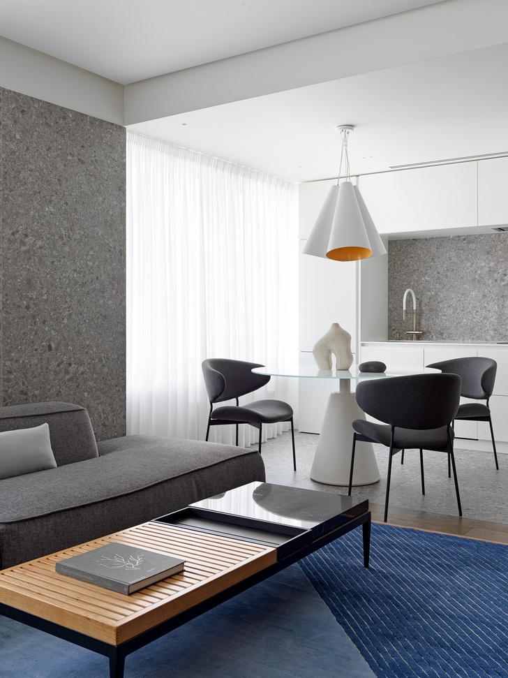 Фото №3 - Яркий минимализм: квартира 60 м² в Москве