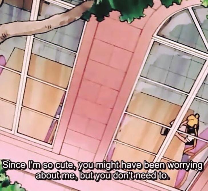 Фото №5 - Инстаграм дня: забавные цитаты из аниме «Сейлор Мун» без контекста