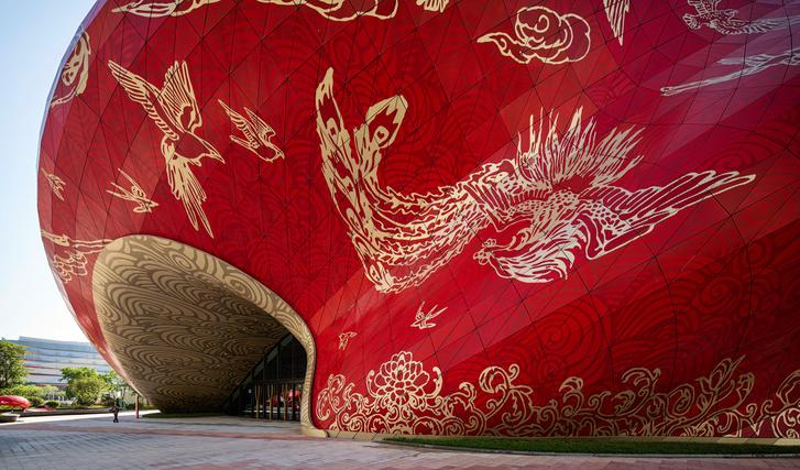 Фото №4 - Переливы шелка: театр в Гуанчжоу
