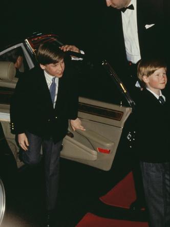 Фото №6 - Счастливое детство: самые трогательные выходы Дианы с Уильямом и Гарри