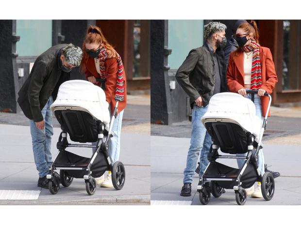 Фото №2 - Джиджи Хадид и Зейн Малик впервые появились вместе на публике с дочкой