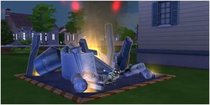 Фото №6 - 7 самых смешных способов умереть в The Sims 4 😈