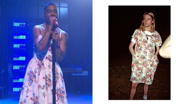 Фото №1 - Выходы и выходки: зачем Курт Кобейн носил платья