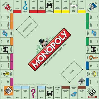 Фото №1 - Тест: Выбери клетку на поле «Монополии», и мы скажем, когда ты разбогатеешь 💰