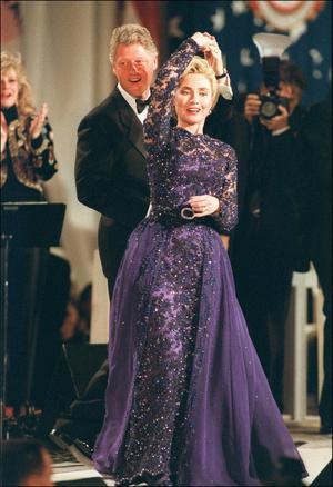 Фото №14 - Королевы Белого дома: самые роскошные инаугурационные платья Первых леди