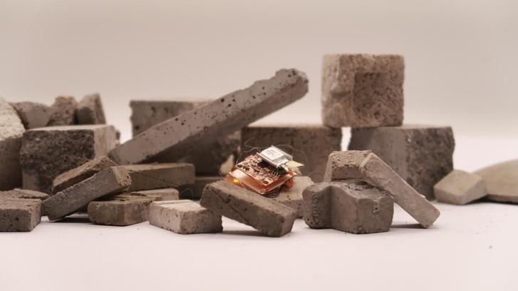 Фото №1 - Ученые создали робота размером с таракана