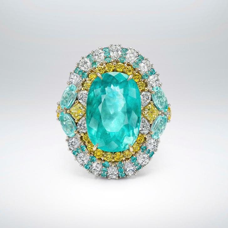 Фото №1 - Морская стихия: кольцо ювелирного бренда Parure Atelier