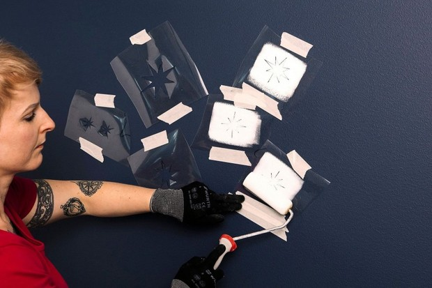 как необычно покрасить стены своими руками: инструкция