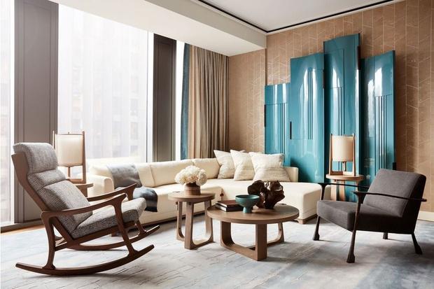 Фото №7 - Тренды 2021: диван + разноцветные кресла