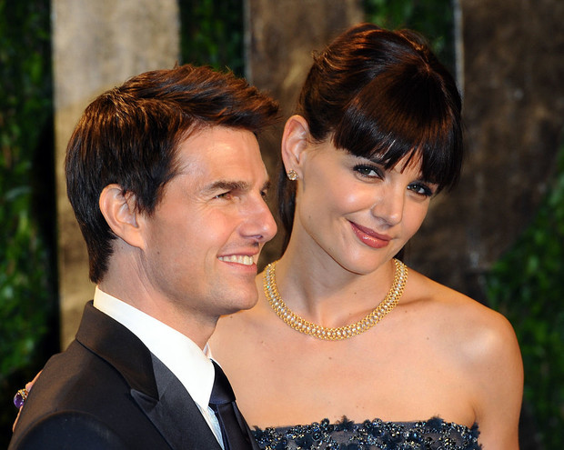 Том Круз с женой Кэти Холмс