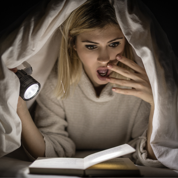 Фото №1 - Читать-бояться: 10 книг, которые напугают тебя до чертиков