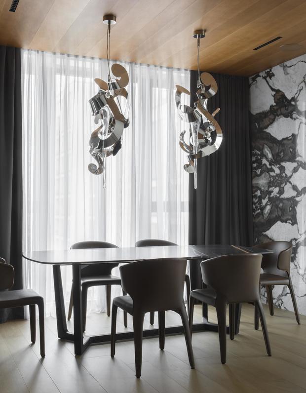 Фото №3 - Московская квартира 222 м² в стиле роскошный минимализм
