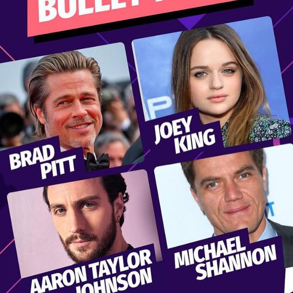Фото №2 - Джои Кинг снимается с Брэдом Питтом и Леди Гагой в новом фильме— уже есть первое фото со съемок!