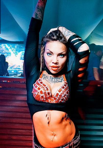 Светлана Ананас, танцовщица, фото