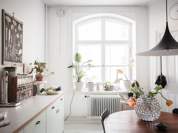 Фото №13 - Уютная скандинавская квартира с микро-спальней в Гетеборге