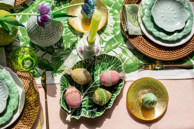Фото №6 - Украшаем стол к Пасхе: идеи декора от Анны Муравиной
