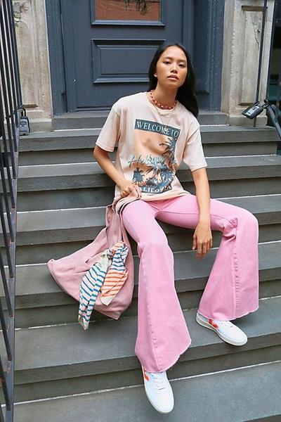 Фото №5 - Как носить цветные джинсы— тренд весны 2021