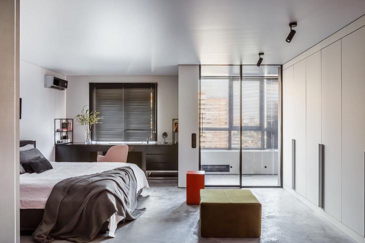 Фото №6 - Квартира с эффектной ванной в Краснодаре 89 м²
