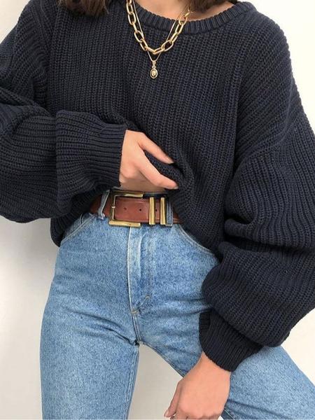 Фото №12 - Just wear it: 5 простых, но стильных осенних образов с джинсами