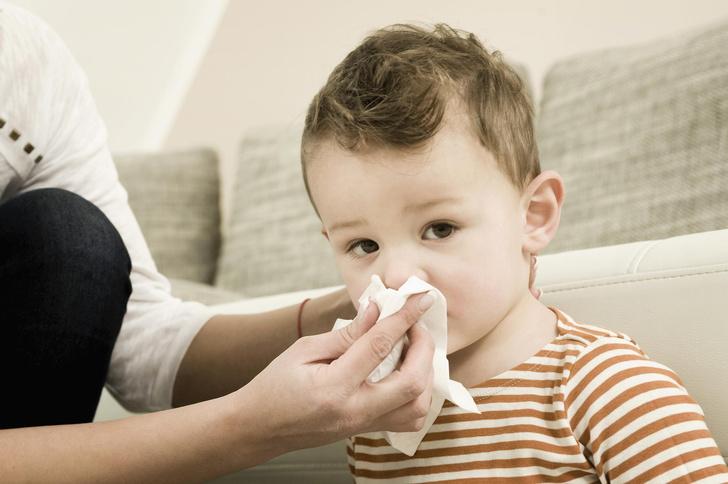 насморк у ребенка как лечить