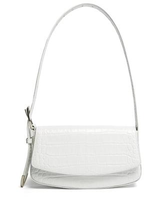 Фото №2 - White fall: кожаная сумка Balenciaga