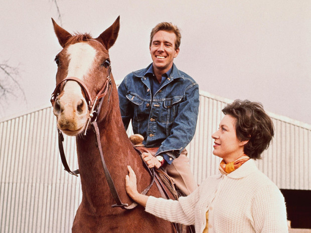 Фото №1 - Королевский мезальянс: говорящее прозвище мужа принцессы Маргарет
