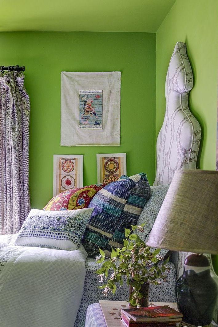Фото №11 - Зеленый цвет в интерьере: советы по декору