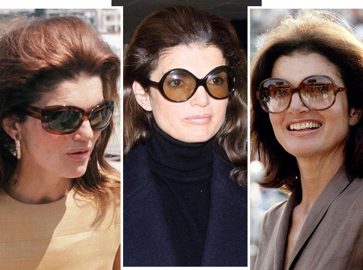 Фото №1 - Любимые солнцезащитные очки Жаклин Кеннеди