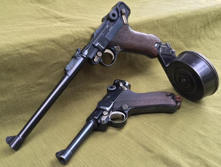 """Фото №4 - «Я дам вам """"Парабеллум""""!»— пять убойных фактов из жизни самого крутого немецкого пистолета"""