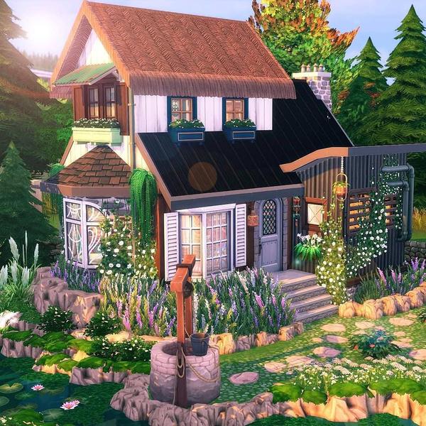 Фото №123 - 35 уютных домиков для «Симс 4», в которых ты сама захочешь поселиться