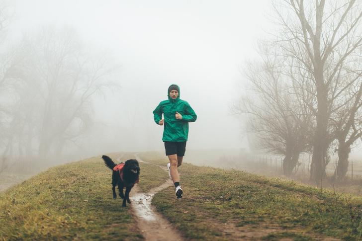 Фото №1 - Как правильно бегать в холодное время года