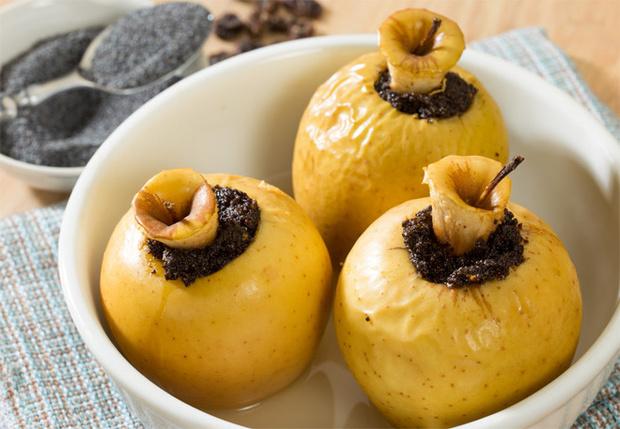 Как запечь яблоки с медом рецепт