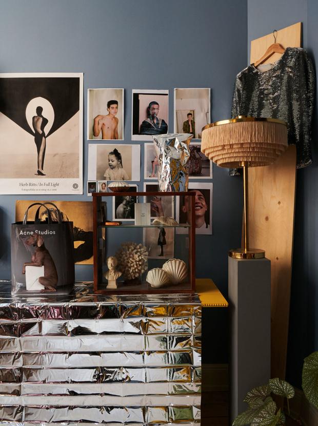Фото №6 - Квартира с винтажной мебелью в Стокгольме