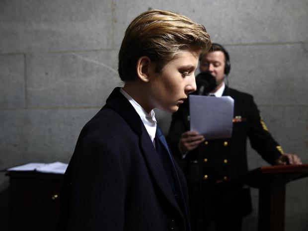 Фото №1 - Бэррон Трамп и еще 6 детей президентов США, которым досталось от СМИ