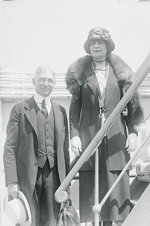 Бернард Барух c женой Анной Гриффин
