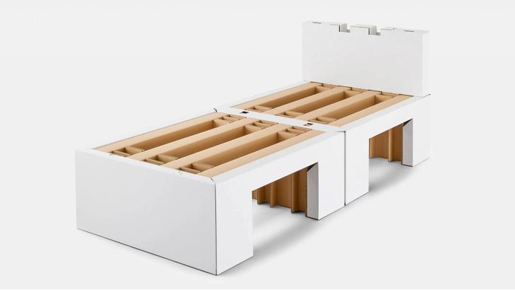 Фото №1 - Олимпиада в Токио: картонные кровати для олимпийцев
