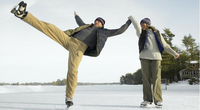 Активная зима: как поддерживать себя в форме