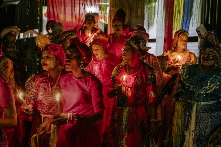Фото №2 - Владычицы ночи: секретный ритуал Бвити в Габоне
