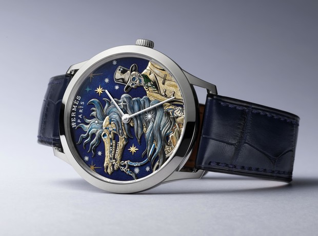 Фото №16 - Watches & Wonders 2021: самые удивительные новинки Hermès, которые можно рассматривать часами