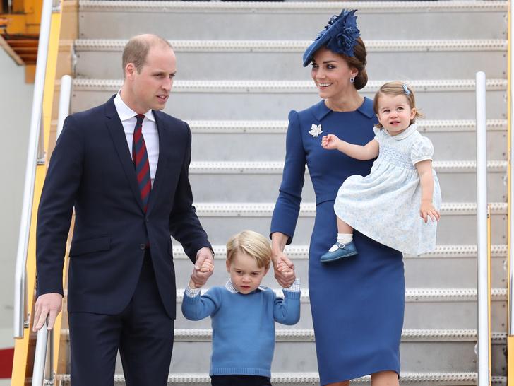 Фото №4 - Мамина дочка: 11 раз, когда Кейт и Шарлотта появлялись в парных образах